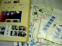 US, MINT USEABLE POSTAGE FACE $250, ACCUMULATION OF MINTMUCH NH STAMPS IN A