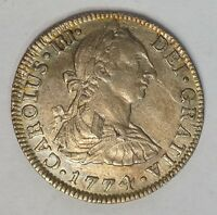 1774 MEXICO 2 REALES KM8.2 COLONIAL  A 50