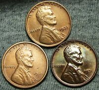 1919 S 1931 1932 LINCOLN WHEAT CENTS     STUNNING DETAILS LOT     N519