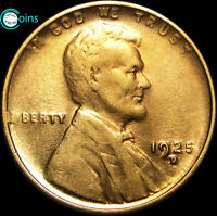 1925-D LINCOLN CENT WHEAT CENT STUNNING BU DETAILS S987