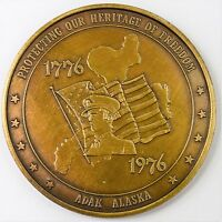 1776 1976 PROTECTING OUR HERITAGE OF FREEDOM ADAK ALASKA MEDAL