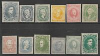 1935 CONFEDERATE USA AMERICA SPRINGFIELD TATHAM REPRINTS LOT COLLECTION MNG