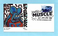 U.S. FDC 4745  DAVE CURTIS CACHET - FORD MUSTANG FROM MUSCLE CARS SET