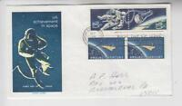 1331-2, 1193 SPACE COMBINATION FLUEGEL FIRST DAY COVER