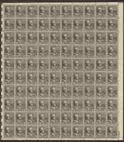 821 ABRAHAM LINCOLN MNH SHEET CV $140