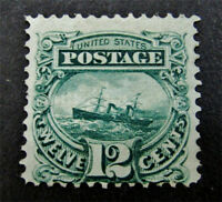 NYSTAMP US STAMP  117 MINT WITH GUM H $1900 SMALL PART OG