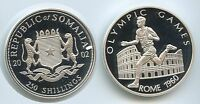 G2007   SOMALIA 250 SHILLINGS 2002 SILBER OLYMPIA 1960 ROME OLYMPIC GAMES
