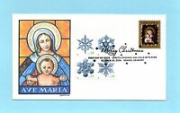 U.S. FDC 4100  SNOWFLAKES  AFDCS COURT OF HONOR CACHET - DAVE DUBE 6