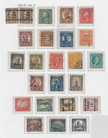 A   OLD UNITED STATES 1922-25 GROUP TO 2 DOLLARS