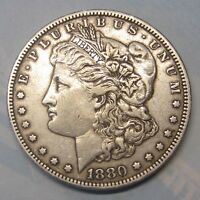 1880 MORGAN SILVER DOLLAR US MINT COIN