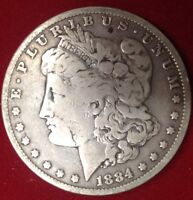 1884 O $1 MORGAN SILVER DOLLAR