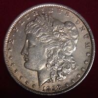 1898 $1 MORGAN SILVER DOLLAR