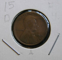 1915 D FINE LINCOLN WHEAT CENT A BUT YOU GRADE IT