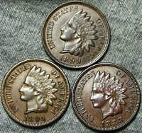 1888 18941899 INDIAN HEAD CENTS      LOT     W116