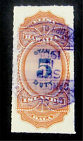 NYSTAMPS US HAWAII STAMP  R4 USED $50