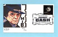 U.S. FDC 4789  DAVE CURTIS CACHET - HONORING MUSICIAN JOHNNY CASH