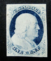 NYSTAMPS US STAMP  9 MINT OG H $750