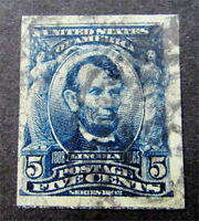 NYSTAMPS US STAMP  315 USED $1250