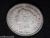 1888 CANADIAN FIVE CENT  LOWER GRADE INV  306