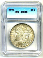 MS65 1900 P MORGAN SILVER DOLLAR GEM MINT STATE BRILLIANT UNCIRCULATED COIN273