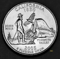 2005 P MINT CALIFORNIA STATE QUARTER UNCIRCULATED CLAD U. S. MINT 50 STATE