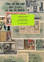NOTGELD CATALOGUE FOR ANTI SEMITIC GERMAN/AUSTRIAN NOTGELD BANKNOTES   BOOK  A5