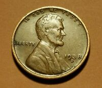 1938 D LINCOLN WHEAT CENT  W25879