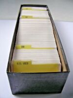 US, EXCELLENT ACCUMULATION OF MOSTLY 19TH CENTURY USED STAMPS IN STOCK CARDS