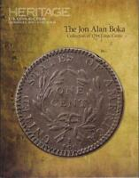 BOKA COLLECTION OF 1794 LARGE CENTS AUCTION CATALOG