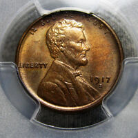 1917 S LINCOLN CENT MS 64 PCGS GRADED WHEAT      SLABBED      AA03