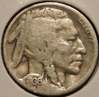 BUFFALO NICKEL   1936 D   $1 UNLIMITED SHIPPING