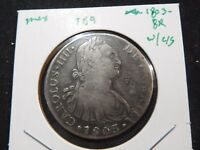 INV T89 MEXICO 1803 8 REALES W/ CHINESE CHOP MARK