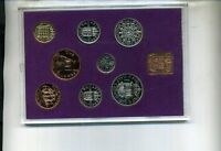 1970 GREAT BRITAIN 8 COIN PROOF GOVERNMENT SET