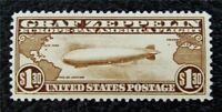 NYSTAMPS US AIR MAIL STAMP  C14 MINT $400