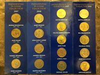 US MINT PRESIDENTIAL $1 COIN COLLECTION FROM 2007, 2008, 2009 & 2010