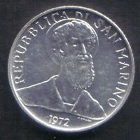 SAN MARINO   1972       2 LIRE   KM  15   UNC FROM DIVISIONALE