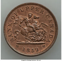 LY HIGH GRADE 1852 1 PENNY DOUG ROBIN'S COLLECTION