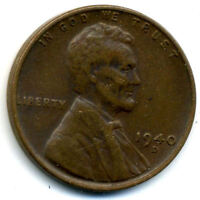 1940 D WHEAT CENT 1 CENT KEY DATE US CIRCULATED ONE LINCOLN  CENT COIN1118