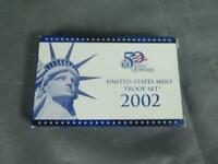 UNITED STATES MINT STATE QUARTERS PROOF SET  2002  10 COINS