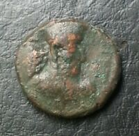 SHAHPUR INDO GREEK INDO SCYTHIAN KUSHAN ANCIENT COIN 4.5 GRAMS 16.5 MM