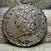 1826 CLASSIC HEAD HALF CENT -  COIN, ONLY 234,000 MINTED 7246