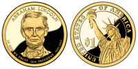 2010 S GEM PROOF ABRAHAM LINCOLN DCAM PRESIDENTIAL DOLLAR UNCIRCULATED COIN PF