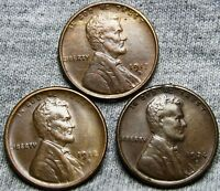 1917-D 1918-S AND 1924-S LINCOLN CENT WHEAT CENT ----  LOT  ---- U065