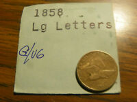 1858  FLYINF EAGLE LARGE LETTERS  GOOD/ GOOD CONDITION