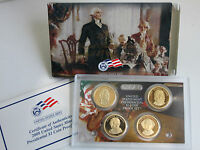 2008 S PRESIDENTIAL US MINT PROOF COIN SET 4 ONE DOLLAR $1 BOX AND COA