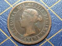 1887 CANADIAN LARGE PENNY QUEEN VICTORIA LOT 7