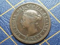 1890 CANADIAN LARGE PENNY QUEEN VICTORIA LOT 9