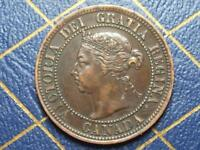 1892 CANADIAN LARGE PENNY QUEEN VICTORIA LOT 11