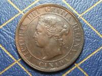 1894 CANADIAN LARGE PENNY QUEEN VICTORIA LOT 13