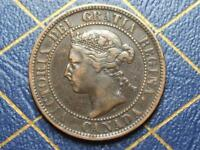1899 CANADIAN LARGE PENNY QUEEN VICTORIA LOT 18